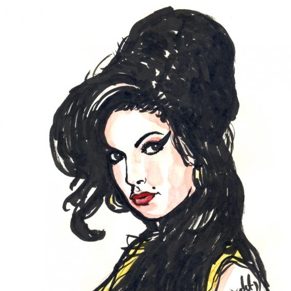 "Illustration ""Amy Winehouse"""